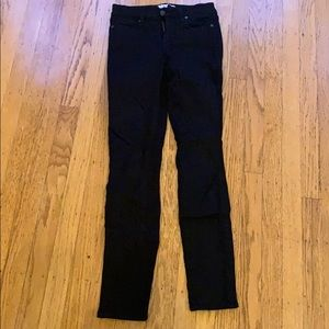 Skinny black jeans from Paige